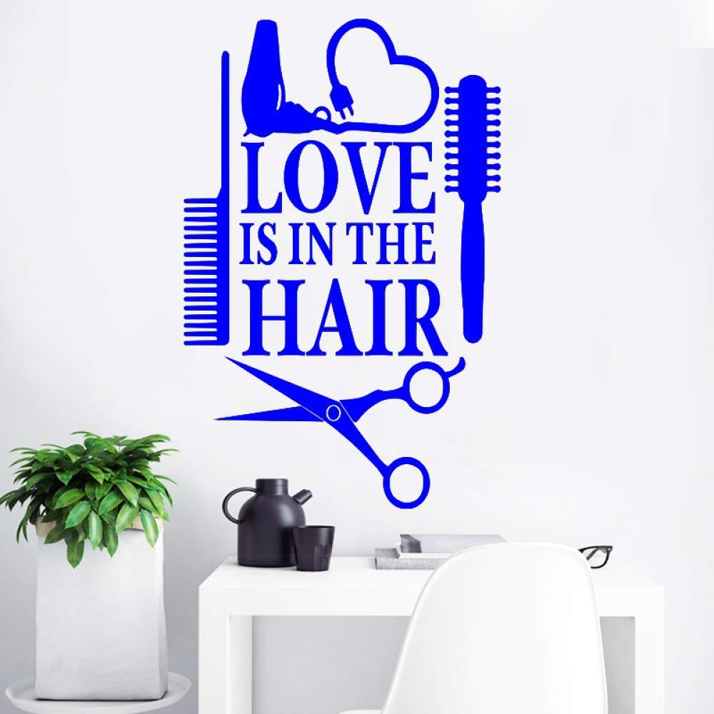 guijiumai Dctal Hair Design Salon Sticker Decal Salon de ...