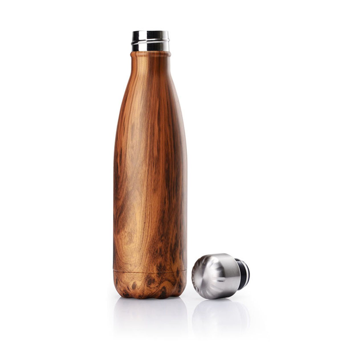 Fen Fun 17oz/500ml Double Wall Vacuum Hot Cool Insulation Stainless Steel Portable Water Bottle-Sports Bottle (B-2)