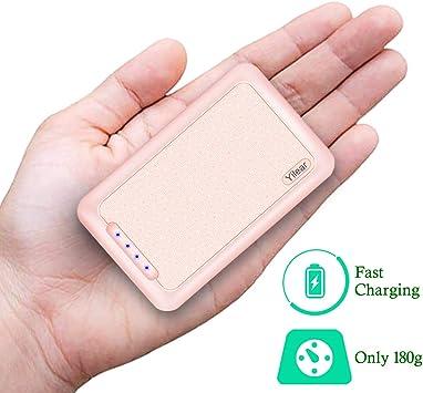 Power Bank 10000mAh Cargador Portátil con Gran Capacidad y Doble ...