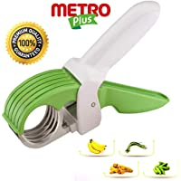 Metroplus Veg Cutter Sharp Stainless Steel 5 Blade Vegetable Scissor Cutter for Kitchen use