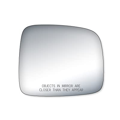Fit System 90162 Jeep Liberty Passenger Side Replacement Mirror Glass: Automotive