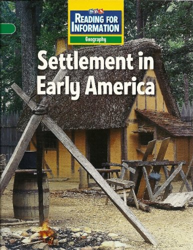 Settlement in Early America (SRA Reading For Information
