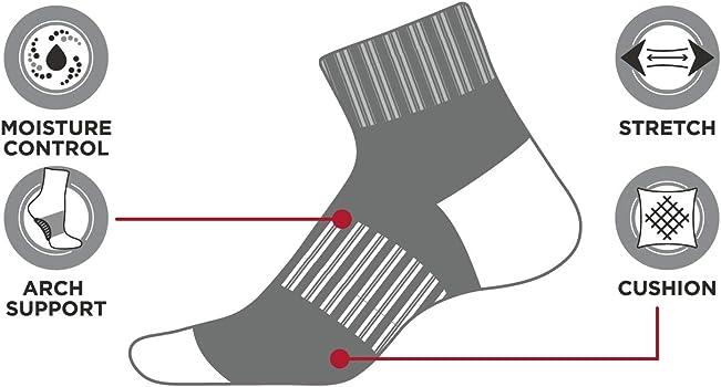 new balance arch support socks