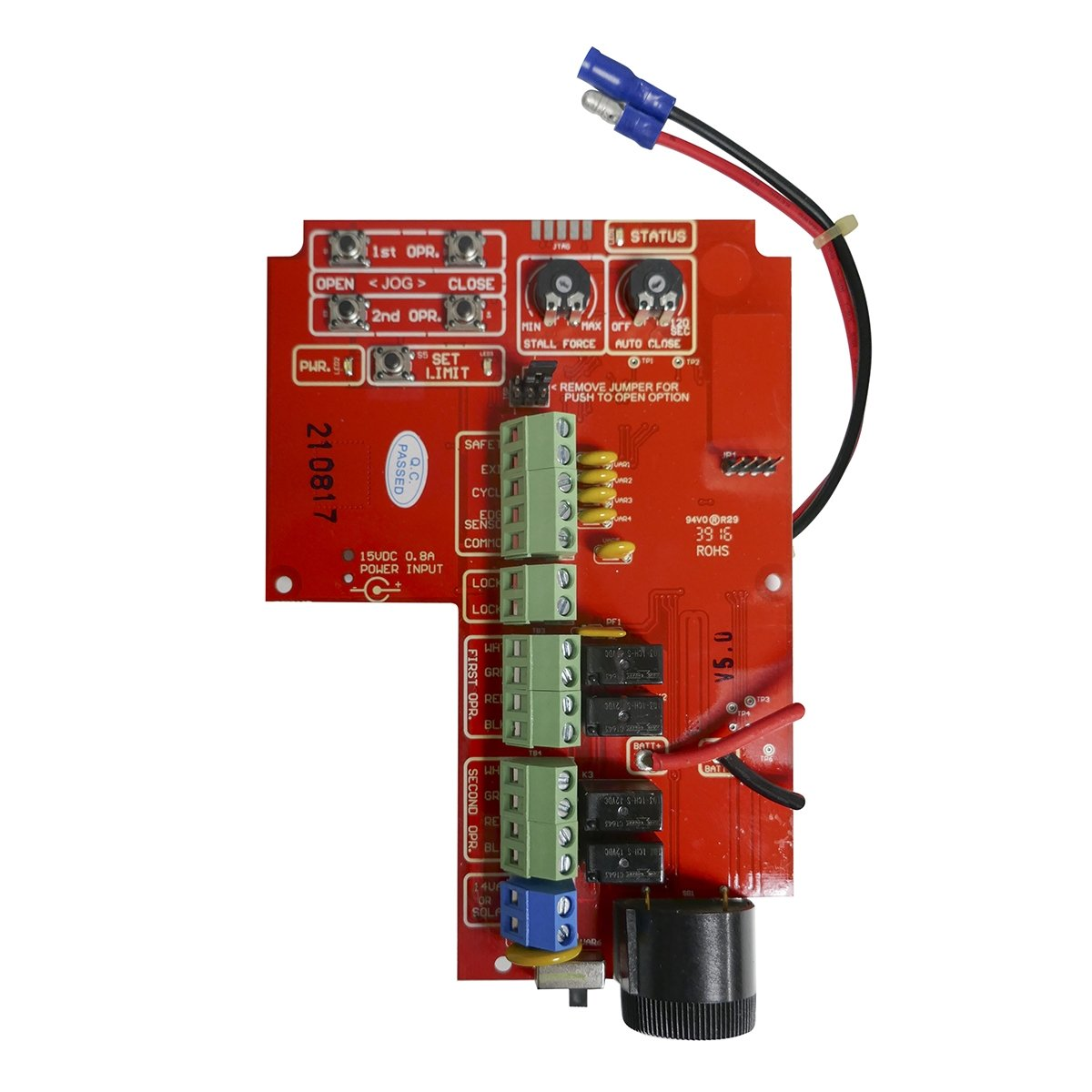 Mighty Mule / Linear GTO PRO R4722 / R5722 Replacement Control Board for the Mighty Mule 262 / 362 / 402 /462 / SW2000XLS / SW2002XLS by Linear Access Pro (Image #1)