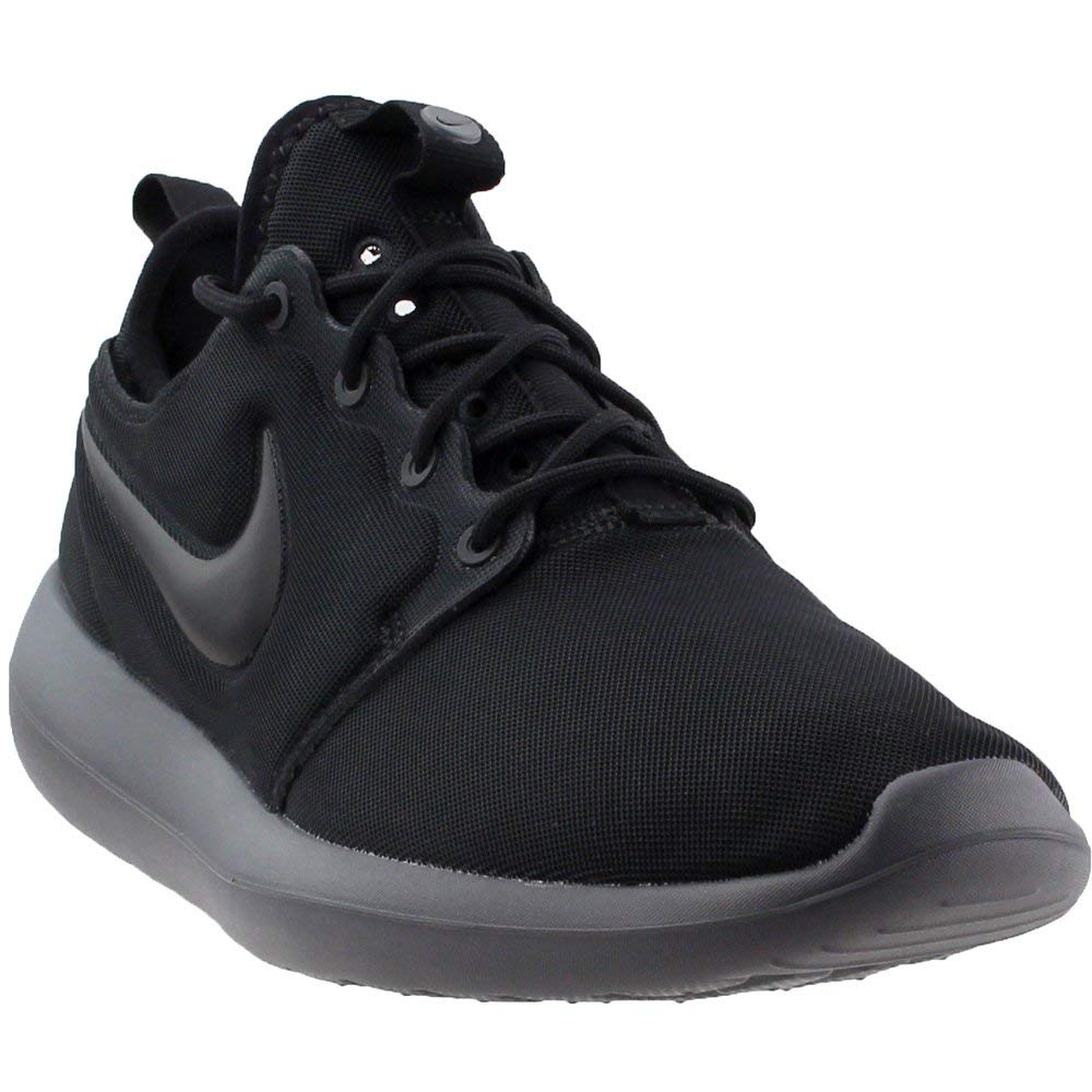 0bb73cf4047b Galleon - Nike Mens Roshe Two Running Shoes Black Black Dark Grey  844656-009 Size 9.5