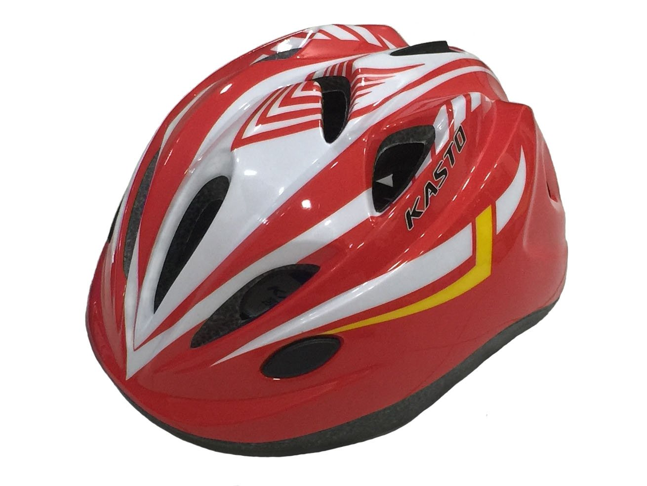 SG Dreamz Kids Protective Skateboard Helmet, Breather Holes, Unisex, Safety, Adjuster Dial, Cool, Comfortable, Durable For Child Head Size 19.6 - 22 inch (White Red)