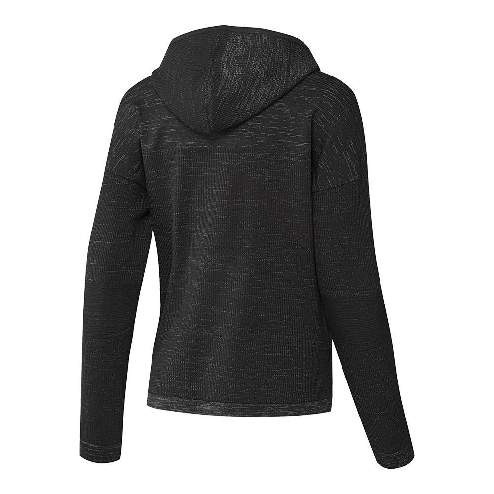 839acd8b09d9d Amazon.com: adidas Women`s Zero Negative Energy Tennis Hoody Black ...