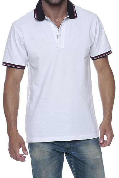 6ce740cc1e Williams Wilson Maglietta Polo, uomo, Colore: Bianco, Taglia: XXL ...