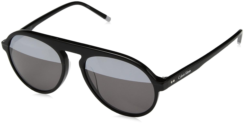 Amazon.com: Calvin Klein ck4350s Ronda anteojos de sol de ...