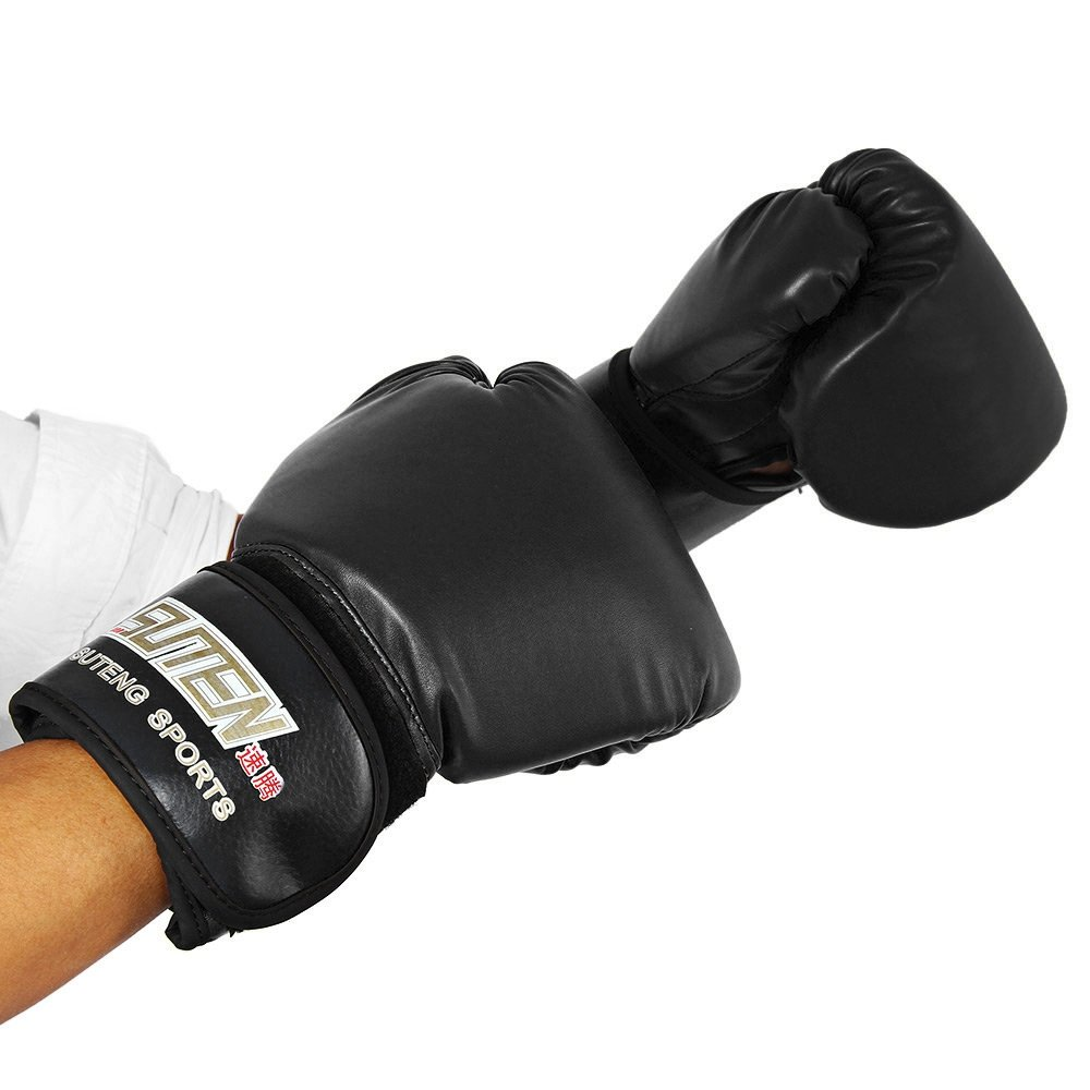 OUTLIFE 1 Pair PU Boxing Fighting Sanda Gloves with Wrist Wrap /& Punching Bag For Professional or Amateur Men /& Women