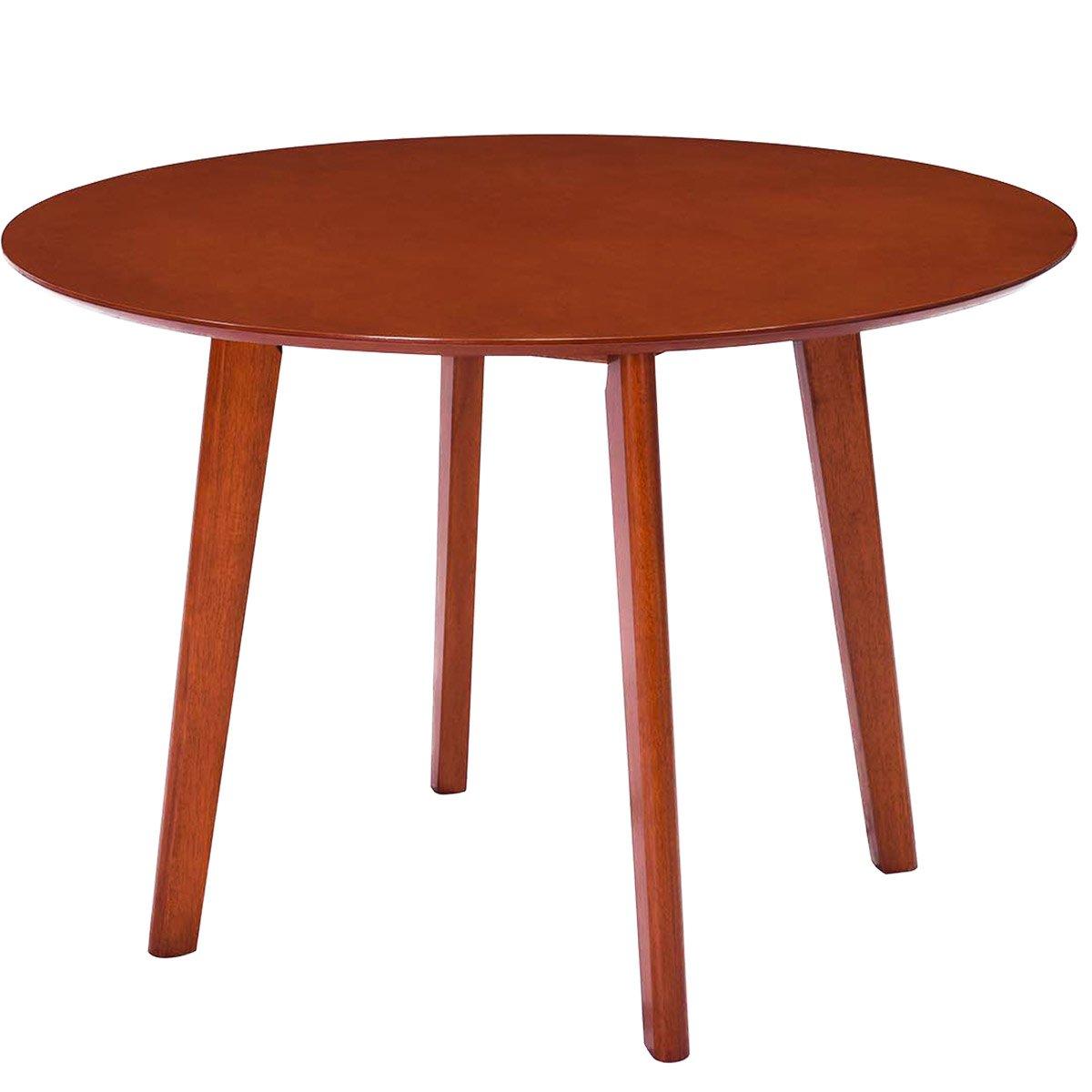 Harper&Bright Designs Round Wood Dining Table 41.7-inch Diameter (Oak)