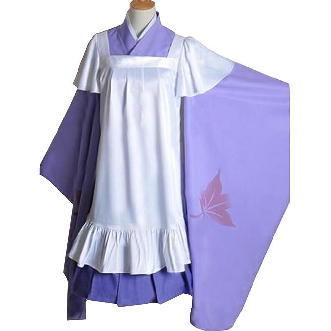 Amazon.com: nsoking para mujer japonés Luka Cosplay kimono ...