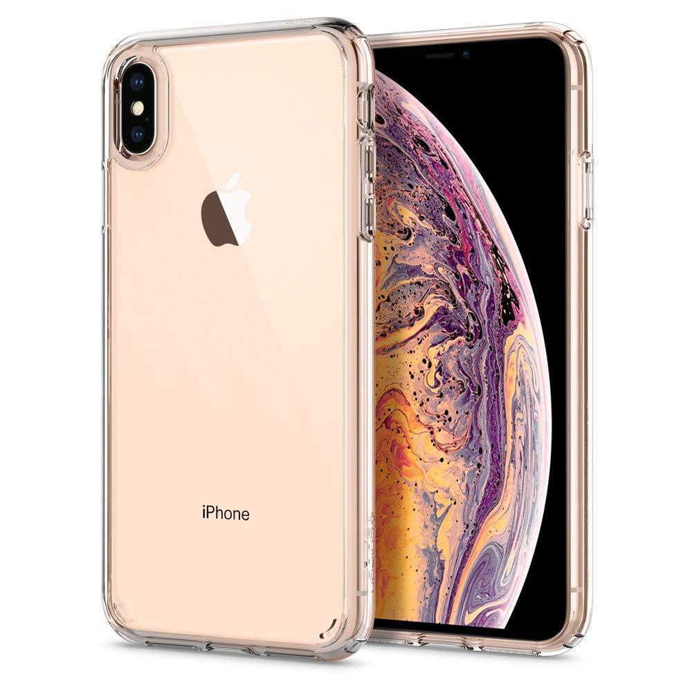Spigen Ultra Hybrid Designed for Apple iPhone Xs MAX Case (2018) - Crystal Clear by Spigen