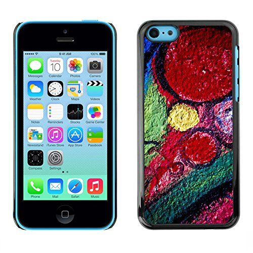 Premio Sottile Slim Cassa Custodia Case Cover Shell // V00002288 Graffiti // Apple iPhone 5C