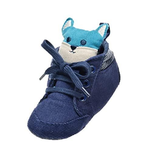 3e45371e055 Kimber ❤ Toddler Boy Girl Shoes Soft Leather Lace Up Sneakers Non-Slip  Outdoor Shoes for Newly Walking Baby Size 3.5 to 6 M