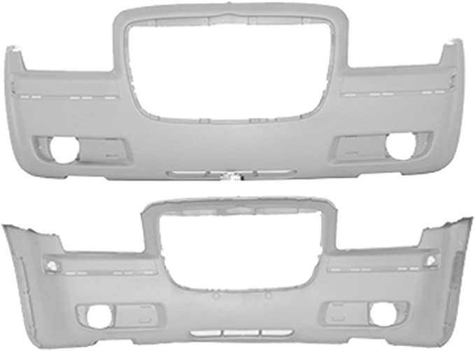 Crash Parts Plus Primed Rear Bumper Cover Replacement for 2005-2010 Chrysler 300