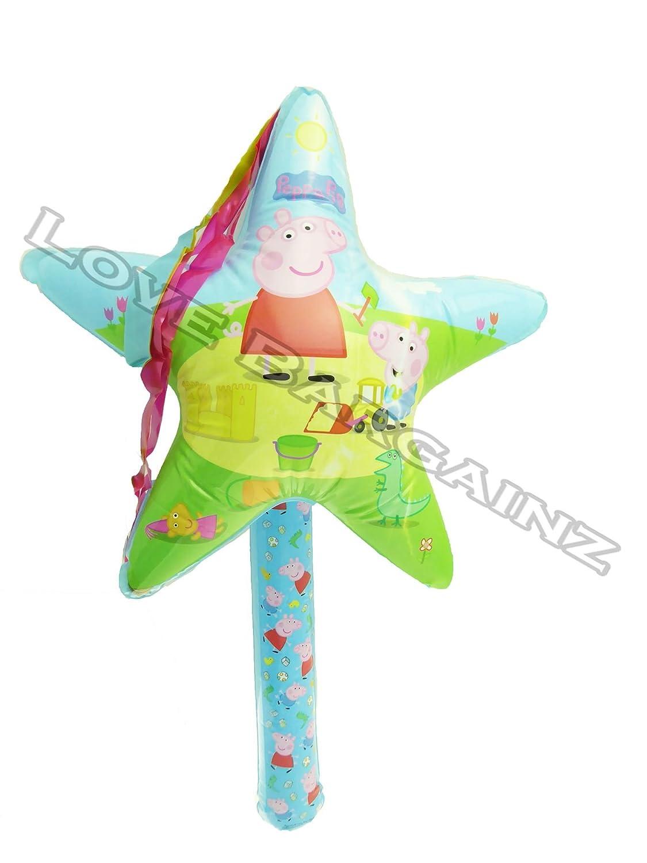 EventExpress24 Peppa Pig - Varita mágica Hinchable con Estrella ...