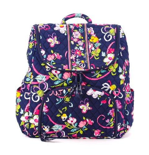 Vera Bradley Double Zip Backpack Ribbons