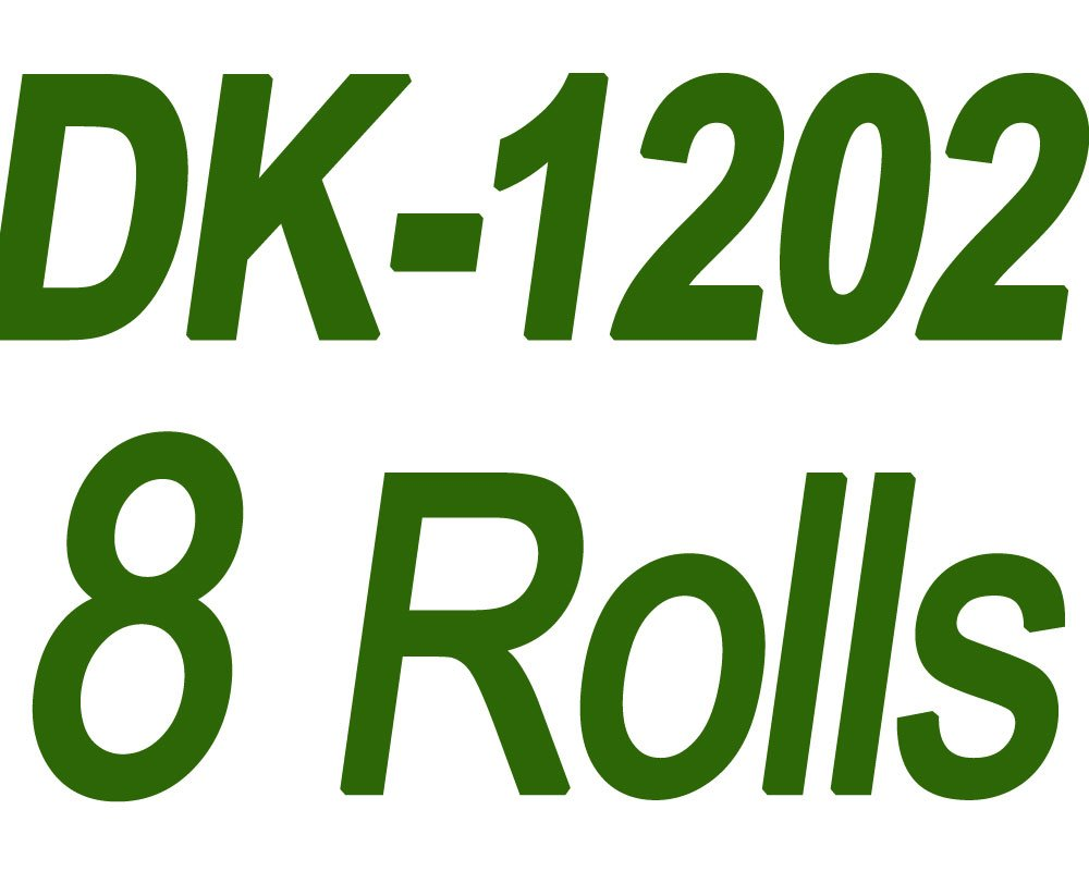 DK-1202 Labels Compatible Brother 2-3/7 x 4 Inches (62mm x 100mm) Die-Cut Shipping Label with One Refillable Cartridge for Brother QL 700 720NW 570 500 Printer and More (300 Labels Per Roll, 8 Rolls) by COLORWING (Image #2)