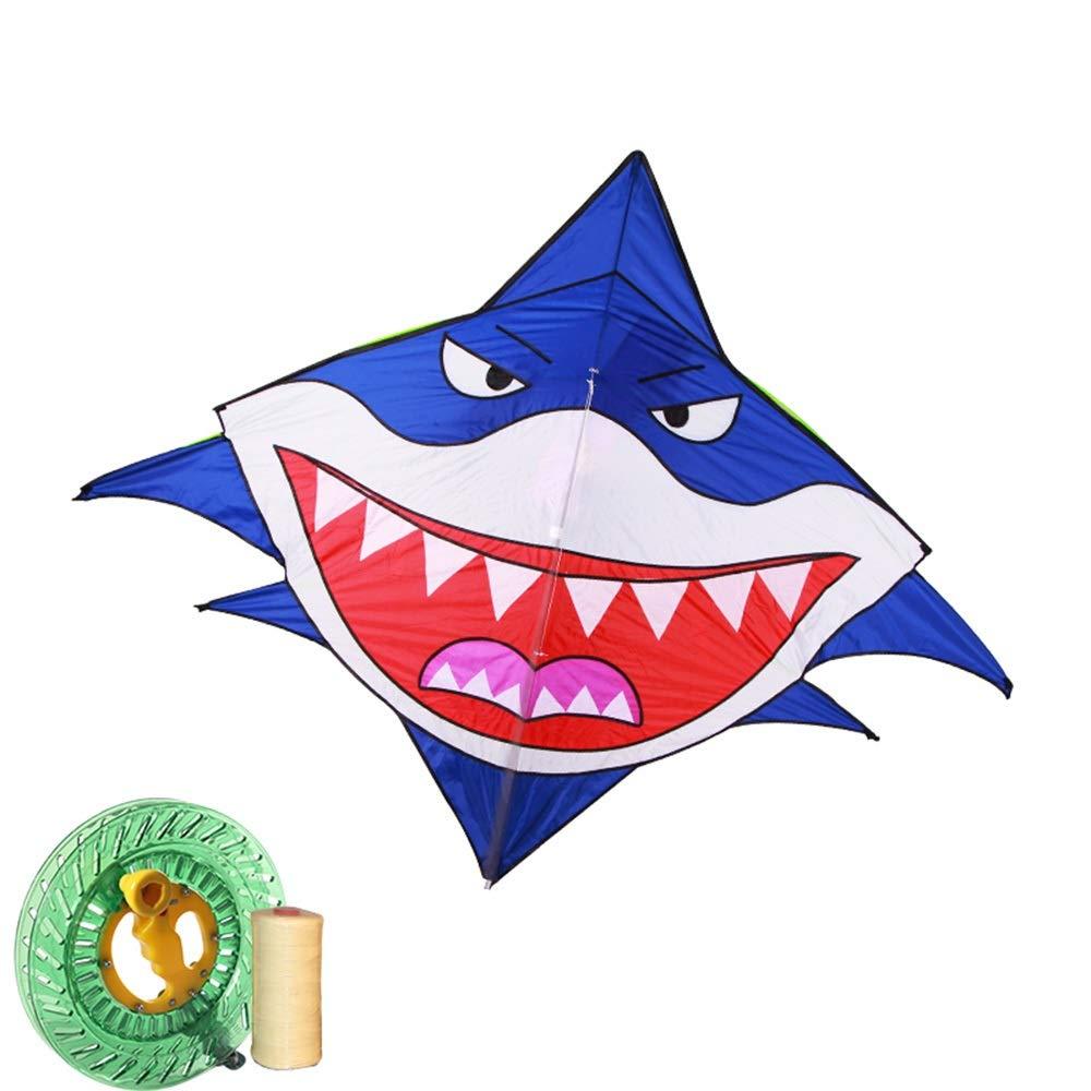 凧,春の空飛ぶ凧の希望 2.4メートルの凧風が飛ぶのは簡単、子供カード凧、凧リール付き 空飛ぶ物 (色 : E) B07QP9PC3Z E