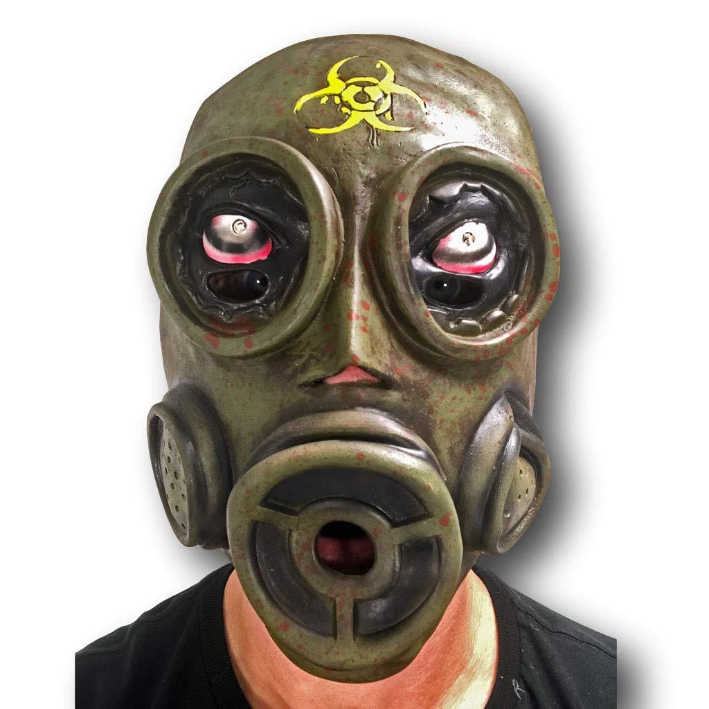 Amazon.com: Máscara de gas purga de goma Johnnies, primera ...