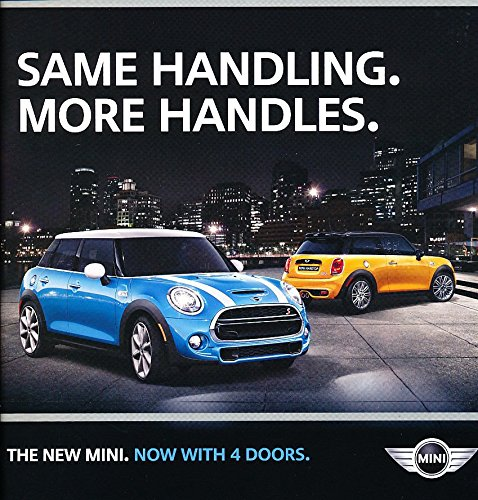 2016 Mini Cooper Hardtop Original Car Sales Brochure Catalog - S 4-door