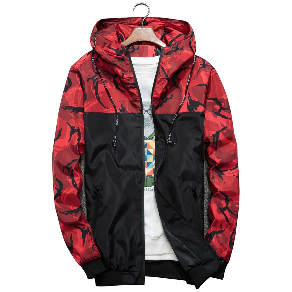 DAIKEN Bomber Thin Jackets Unisex Hip Hop Slim Fit Floral Windbreaker College Jacket