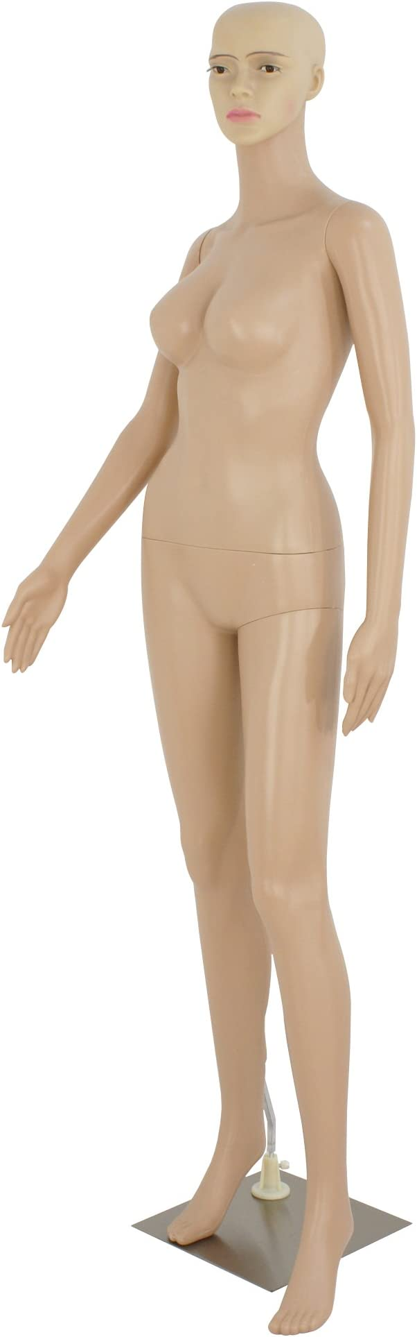 27cm Anime Female Body Mannequin Turns Dress Action Figure Silicone PVC NO BOX