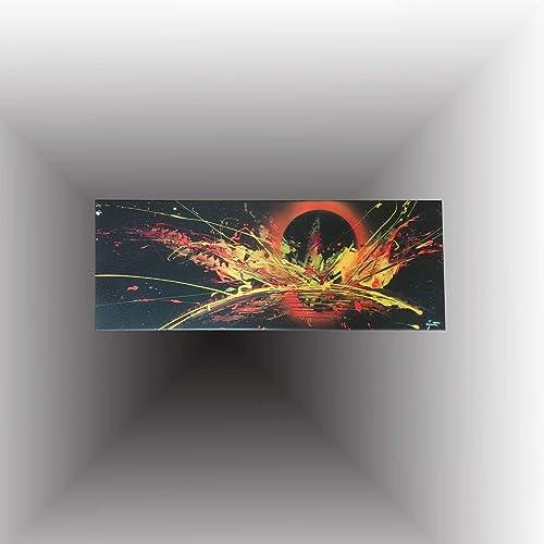 Peinture Peintre Art Abstrait Peinture Moderne à Lacrylique Art