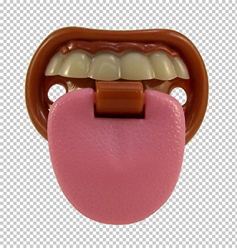 Billy Bob Teeth Baby with Attitude Tongue Novelty Baby Pacifier