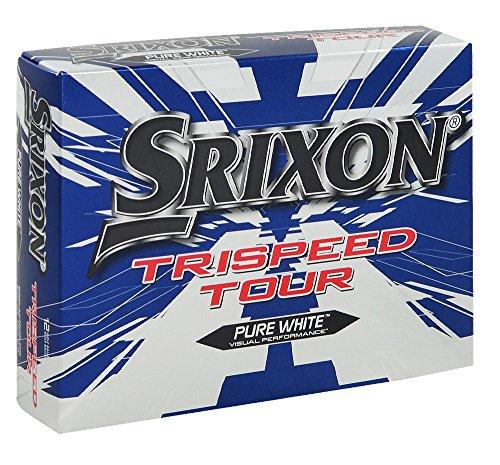 Srixon Trispeed Tour Golf Balls White