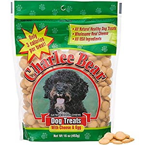 Charlee Bear Dog Treats with Cheese & Egg 6