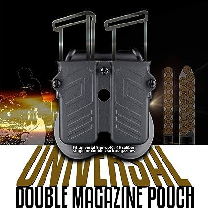9mm Add-on Single Magazine Pouch 40 /& 45 Caliber