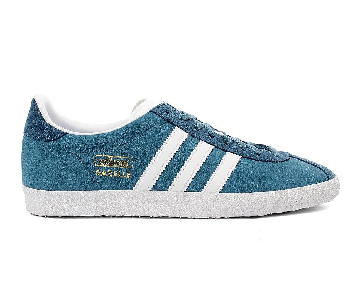 meilleur service 24d38 101d6 Adidas GAZELLE OG Baskets Homme M25336-43 1/3 - 9.5 Bleu ...