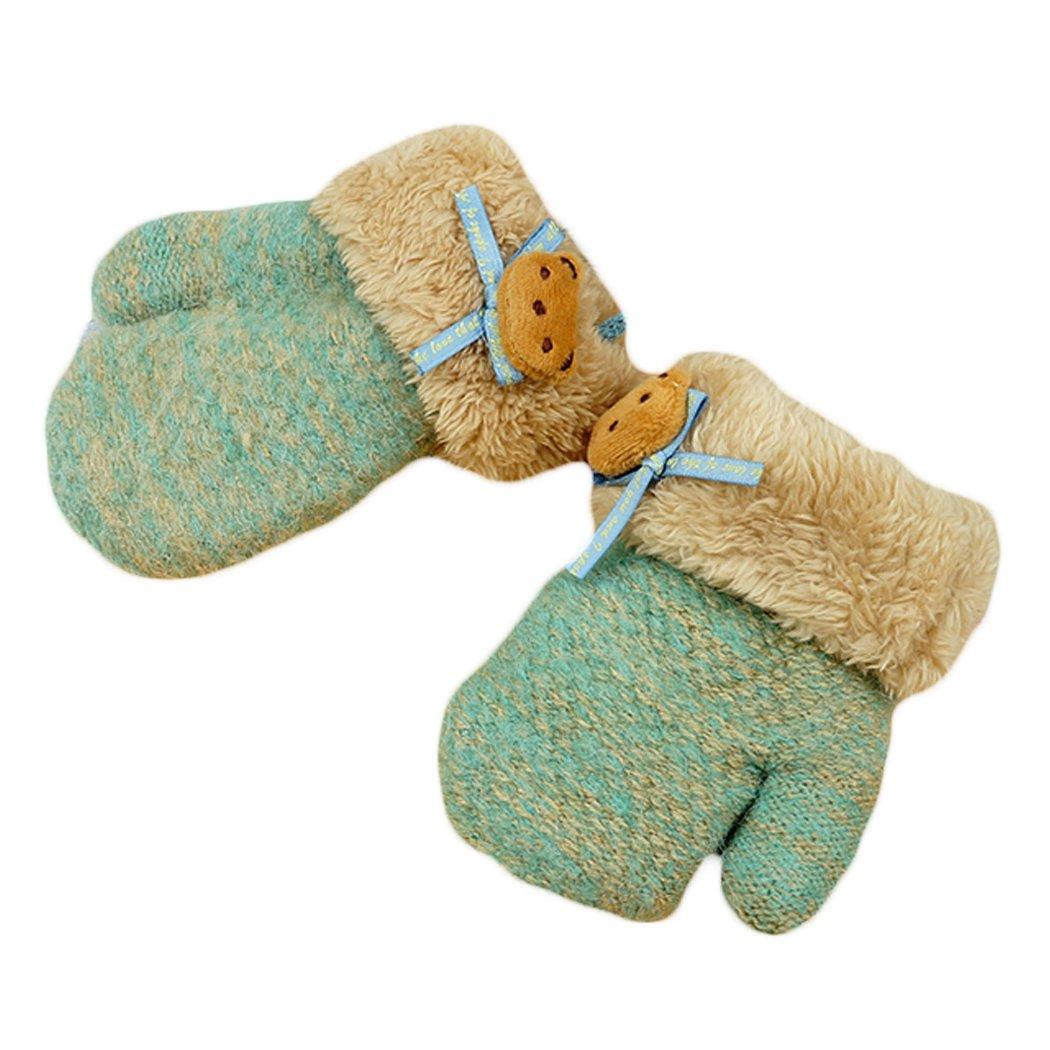 Hikfly Mignon Knit Moufles Mitaines Gants pour Bébé Filles Garçons Warmer  Mittens Cadeau De Noël (1-3 ans) (Vert, H)  Amazon.fr  Vêtements et  accessoires 447efdbe2d2