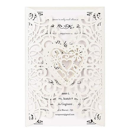 Tarjeta de felicitación, 20 Piezas de Papel de Perla ...