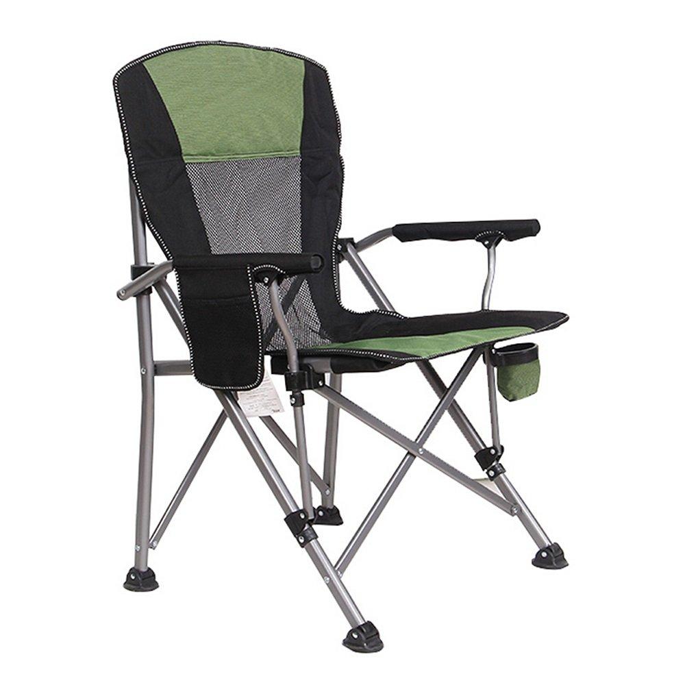 ベンチ キャンプ折りたたみチェア屋外釣りポータブルビーチ超軽い背もたれの椅子(58 * 58 * 95センチメートル) (A++) (色 : A) B07DB6459T A A