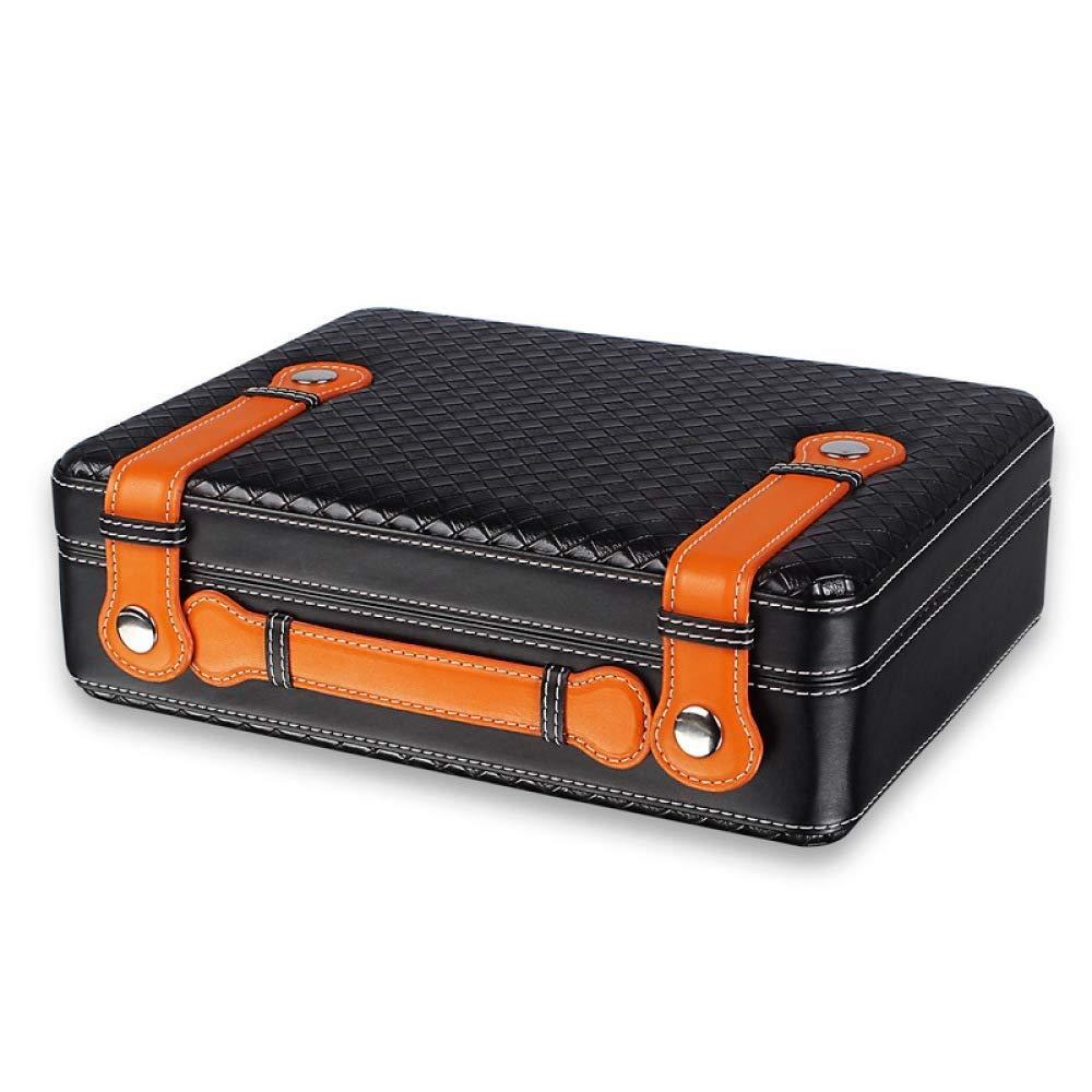 HYZXJHE Cigar Box, Cedar Wood Cigarette case Cigar Portable Cigar Box 270 250 80mm