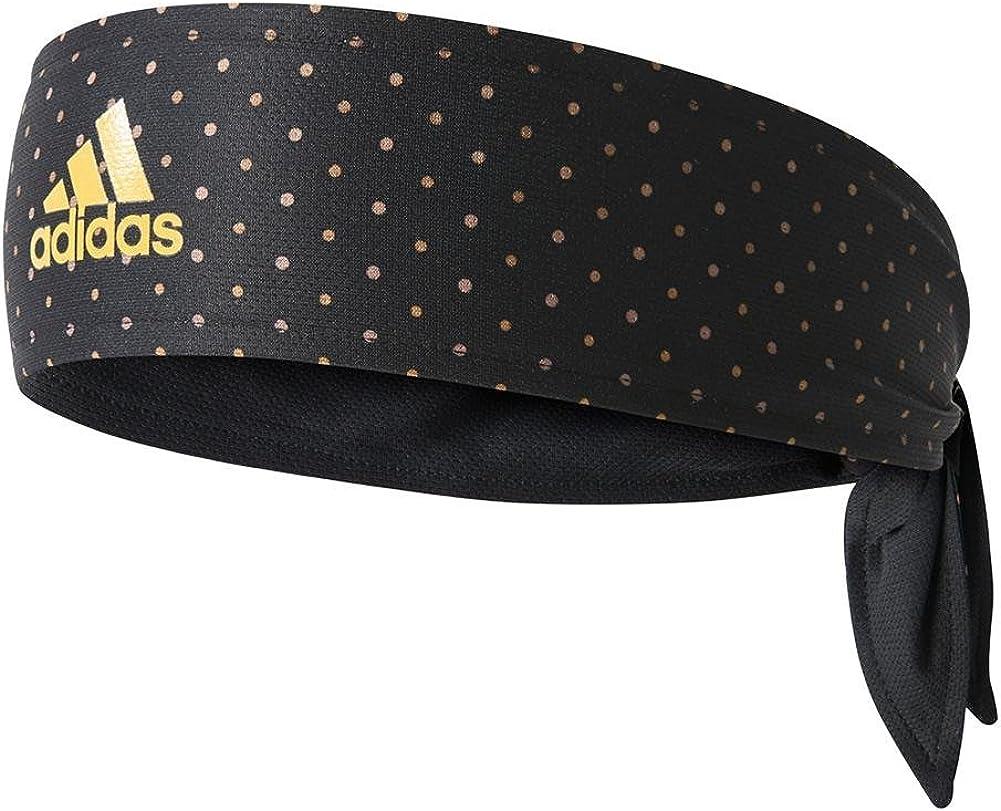 adidas tenis banda para la cabeza corbata negro/amarillo: Amazon.es: Ropa y accesorios