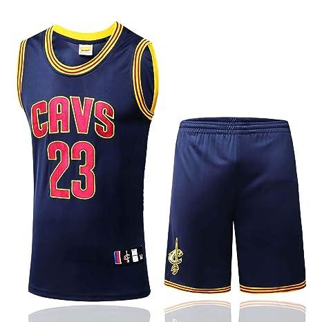 competitive price 3bf3b c5437 Amazon.com : KSITH Jersey NBA Cavaliers #23 James New Season ...