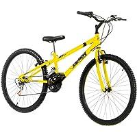 Bicicleta Ultra Bikes Rebaixada Aro 24 – 18 Marchas Amarelo