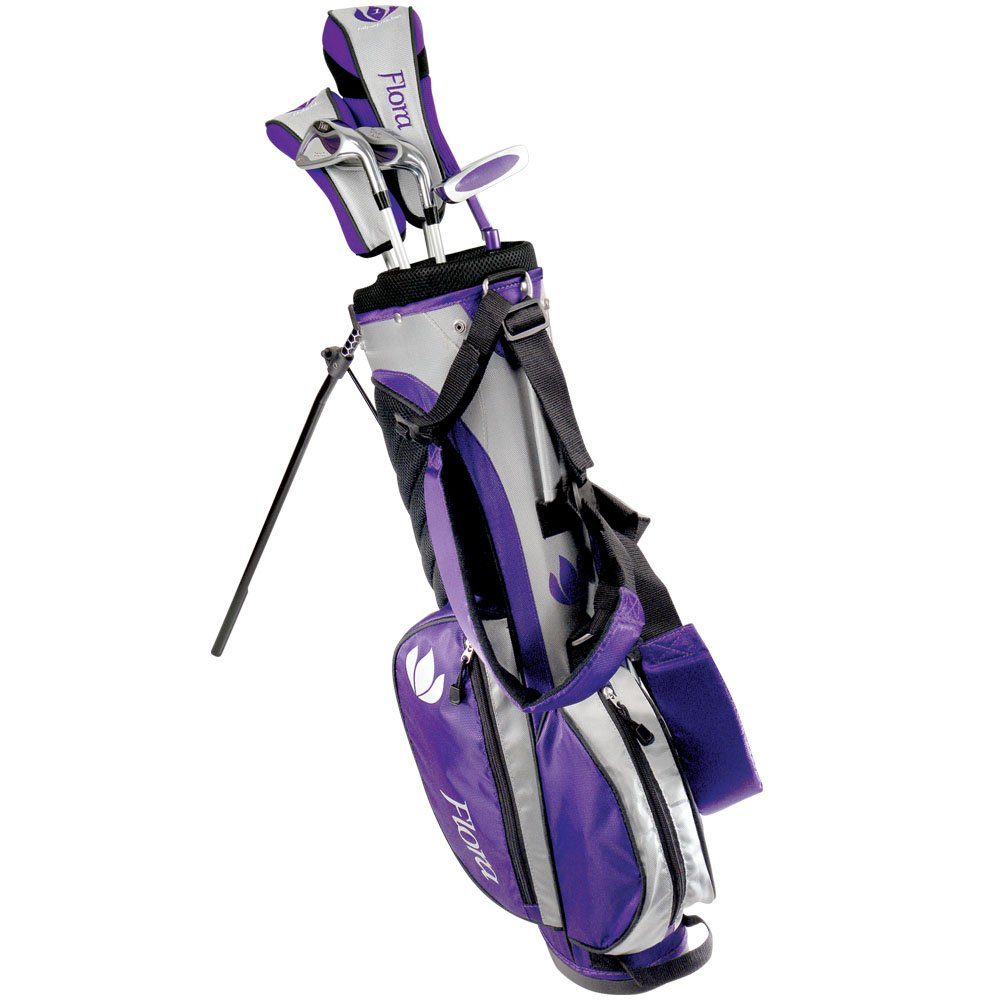 Intech Flora Junior Girls Golf Club Set (Right-Handed, Age 8-12) by Intech (Image #1)
