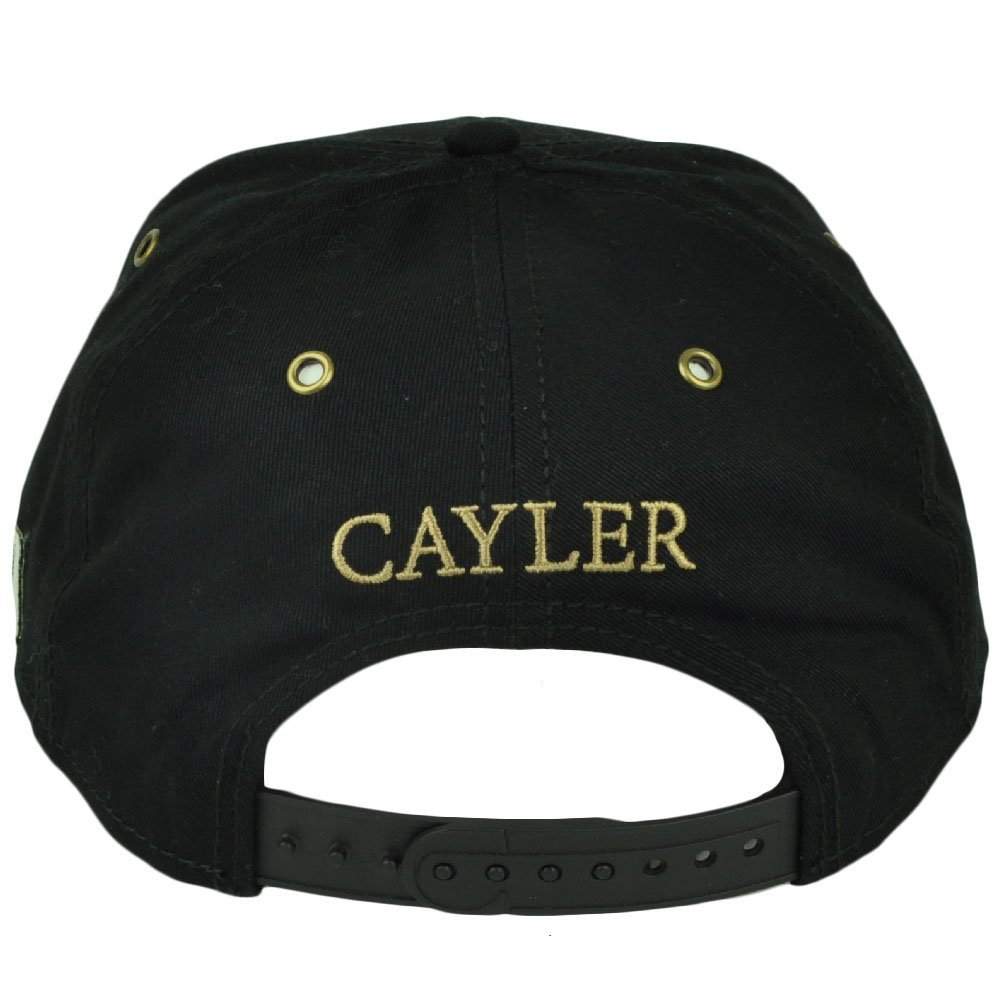 Cayler and Sons Weezy Blunt Smoke Flat Bill Snapback Black Hat Cap  Marijuana  Amazon.co.uk  Clothing 4441e4c8a6f8