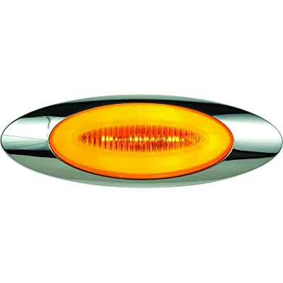 "Optronics 11212335P Millennium 6.5"" LED Marker/Clearance Light Kit, Amber: Automotive"