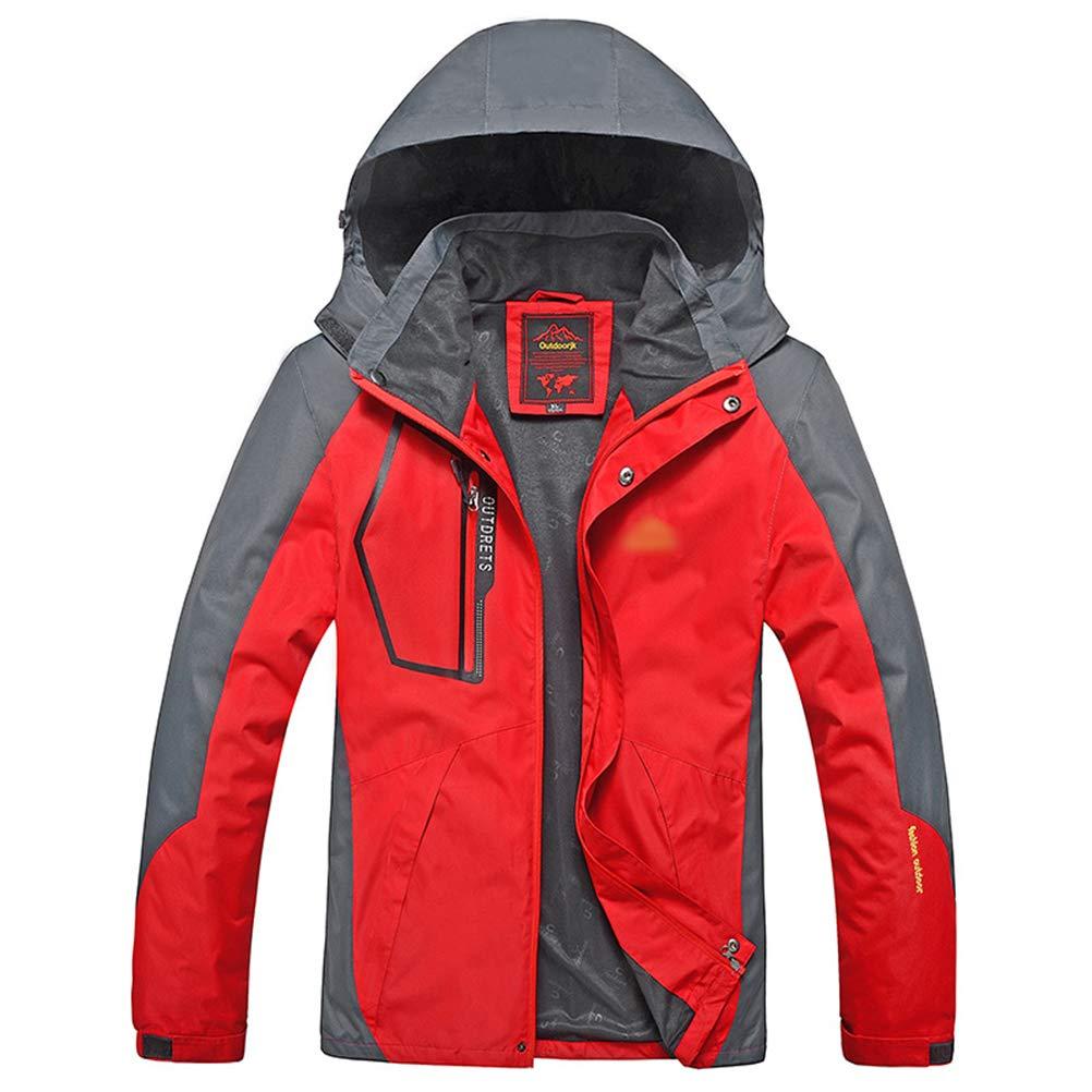 rouge L SJZC Veste Coupe Homme Ski Manteau Hommes Blouson De Impermeable Vent Pas Cher Hivers Pluie SurveteHommest036