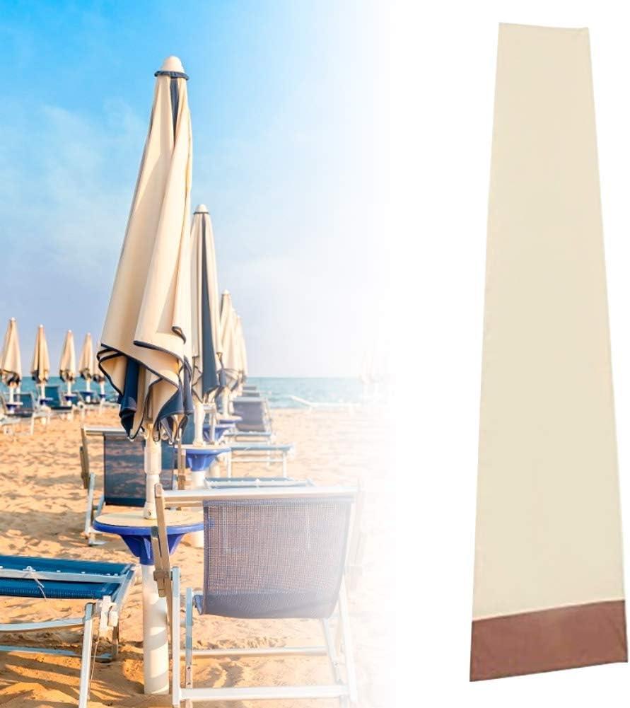 TOPINCN Coperture per ombrelli Impermeabili Copertura per ombrellone per Esterni Patio per Esterni Mercato Ombrellone per Esterni