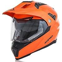 Casco Flip fs-606Flou Naranja XL