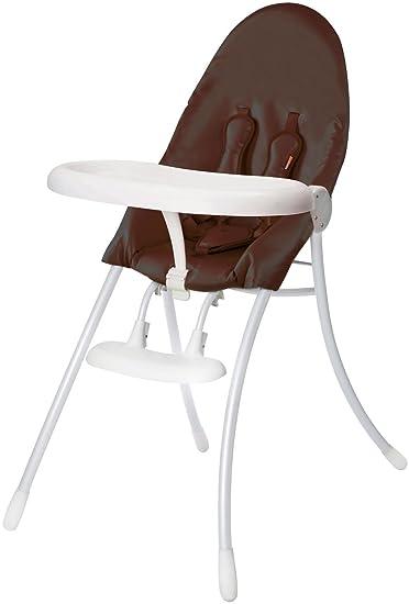 Bloom Nano Urban Highchair   White Frame U0026 Henna Brown Seat