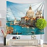 Tapestry, summer beach wall hanging, beach towel carpet, decorative wall cloth-B 130cm150cm