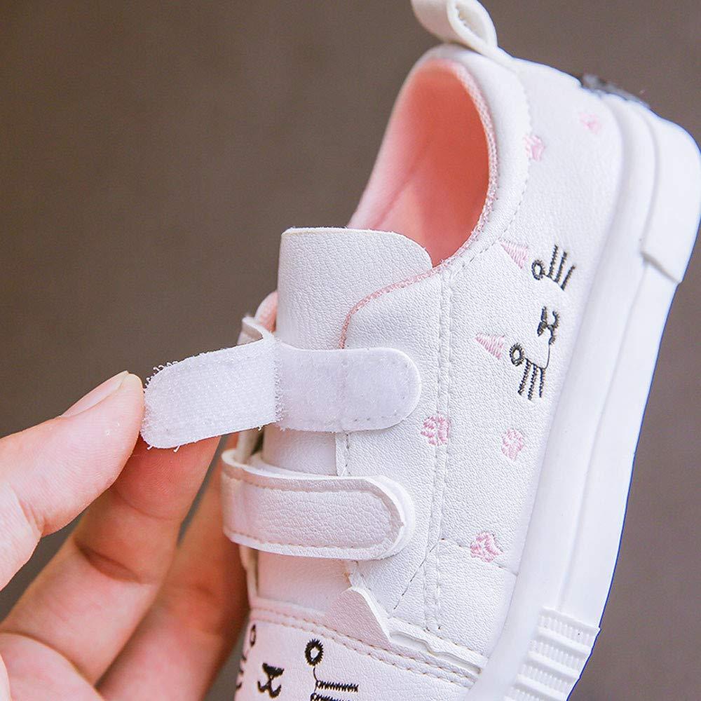 ❤️ Zolimx Ni/ños Chicos Ni/ñas Gato Zapatillas Deportivas Zapatillas de Beb/é Recien Nacido Zapatos Casuales Deportivas Ni/ña de 0-3 A/ños